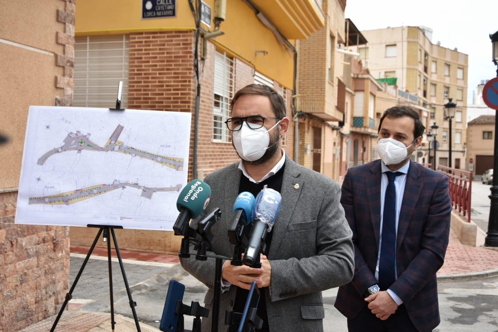 """El Ayuntamiento de Lorca impulsa el procedimiento para la adjudicación de las obras de renovación urbana de la calle """"Abellaneda"""" en el barrio de San Cristóbal"""