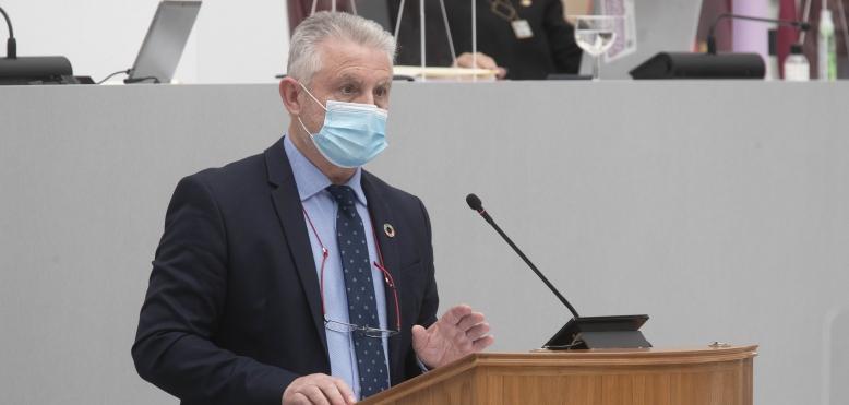 """Peñalver: """"España es el primer país de la UE en ritmo de vacunación, pero la Región de Murcia la última del país"""""""