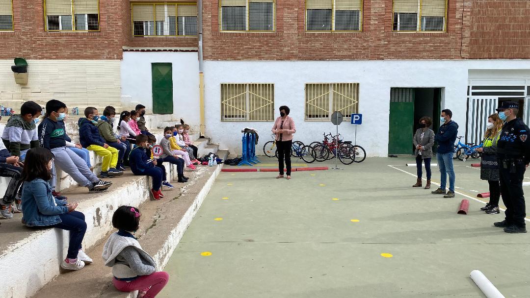 Alrededor de 1800 alumnos de Infantil y Primaria de Puerto Lumbreras recibirán durante el mes de mayo formación en educación vial