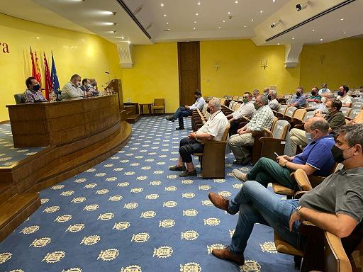 La Mesa del Agua de Almería participa en la reunión del 'Circulo por el Agua' en defensa del trasvase Tajo-Segura celebrada en Murcia y no descarta querellarse contra el Ministerio de Transición Ecológica