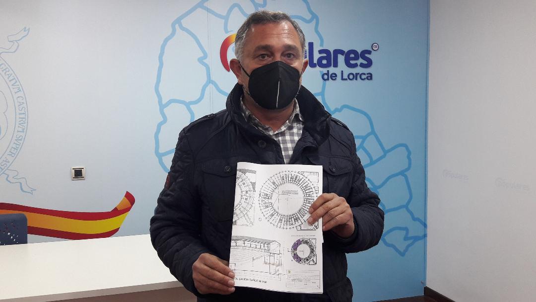 El PP exige que el Ayuntamiento defienda los intereses de los lorquinos ante la paralización de las obras de rehabilitación de la plaza de toros de Sutullena