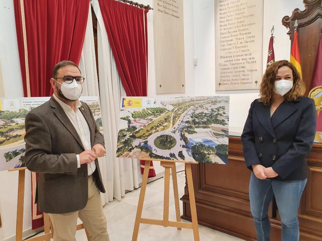"""El Alcalde de Lorca valora """"muy positivamente"""" el anuncio de ADIF de la adjudicación de la redacción del proyecto para el soterramiento del ferrocarril en Lorca"""