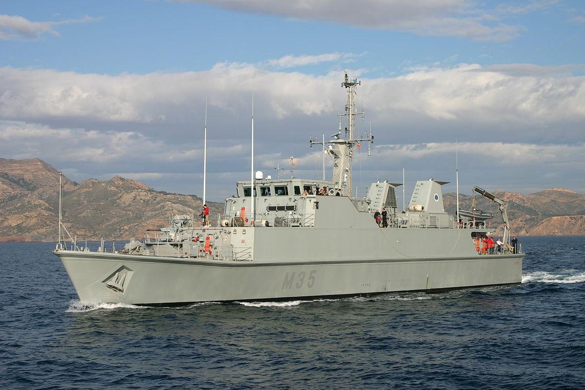 La Fuerza de Medidas Contra Minas de la Armada cumple 75 años
