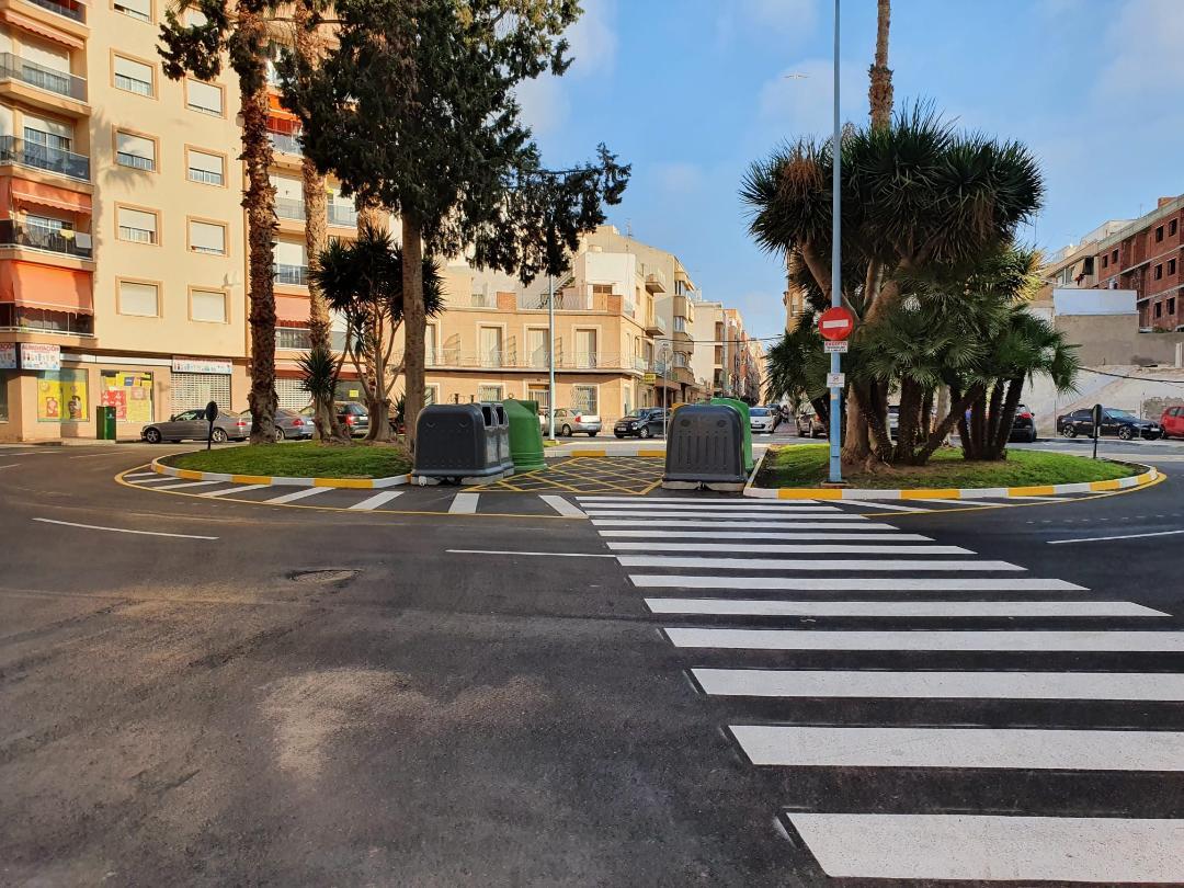 Concluyen los trabajos de mejora en la Plaza Juan XXIII