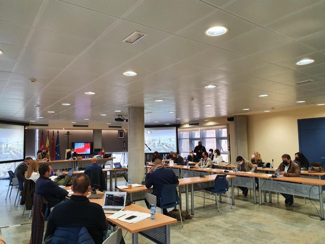 El Ayuntamiento de Lorca aprueba por unanimidad solicitar toda la información relacionada con los trabajos referentes a la línea de alta tensión Hinojar - Águilas