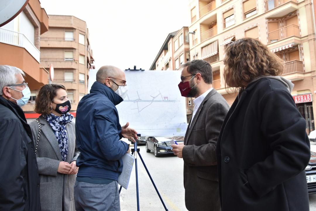 """El Ayuntamiento de Lorca de Lorca adjudica las obras de renovación urbana de la calle """"Jerónimo Santa Fe"""" que comenzarán el próximo mes de Marzo"""