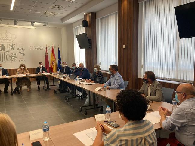 """El Alcalde de Lorca muestra """"su preocupación y disconformidad"""" respecto a la suspensión del Servicio de Cercanías Lorca-Murcia planteado por ADIF"""