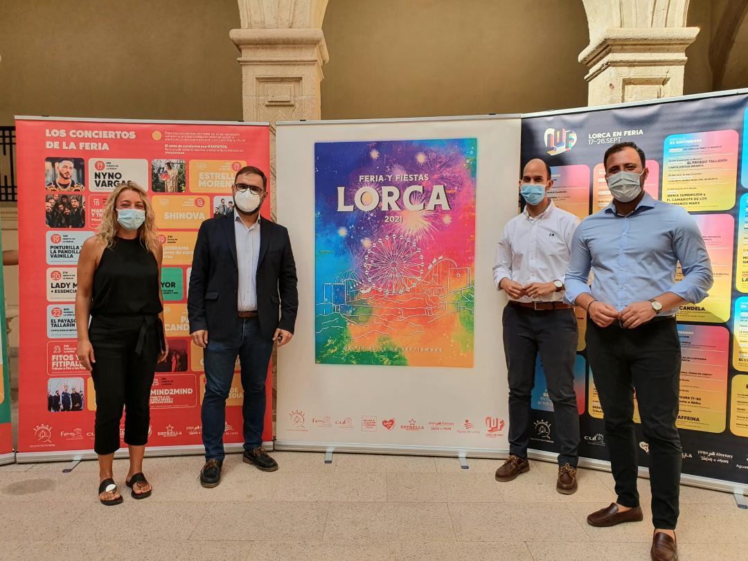 """El Ayuntamiento elabora la programación de Feria y Fiestas de Lorca """"más social, inclusiva y segura de la historia"""""""