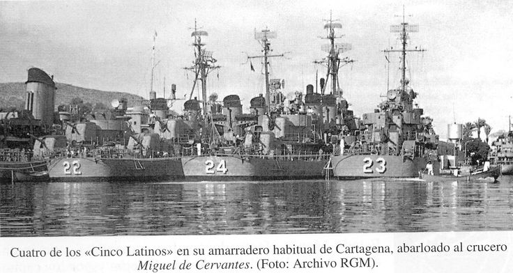 'Algunos apodos más de buques de la Armada', por Diego Quevedo, Alférez de Navío ®