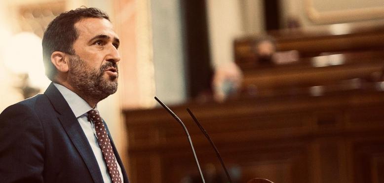 """Juan Luis Soto, Diputado nacional del PSOE : """"El responsable de la situación del Mar Menor es el PP, que lleva casi tres décadas de inacción y desinterés"""""""