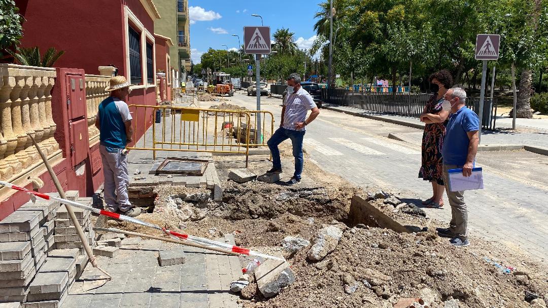 El Ayuntamiento de Puerto Lumbreras invierte más de 50.000 euros en obras para mejorar el servicio de abastecimiento de agua a los vecinos