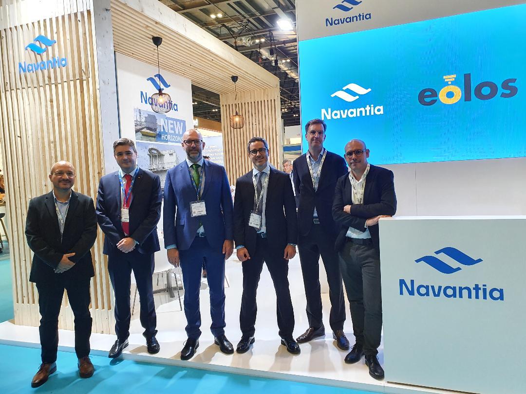 Navantia y Eolos desarrollarán sistemas de mantenimiento de parques offshore con vehículos no tripulados
