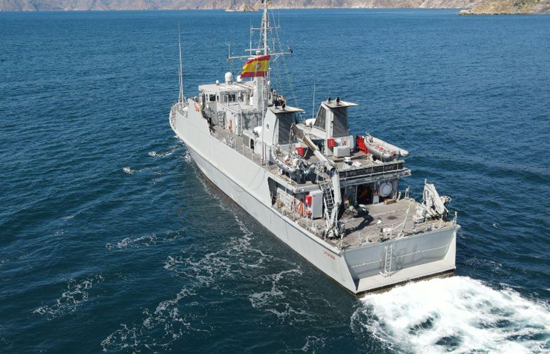 """El cazaminas """"Segura"""" (M-31) se integrará en la Agrupación Permanente de Medidas Contra Minas nº 2 de la OTAN"""