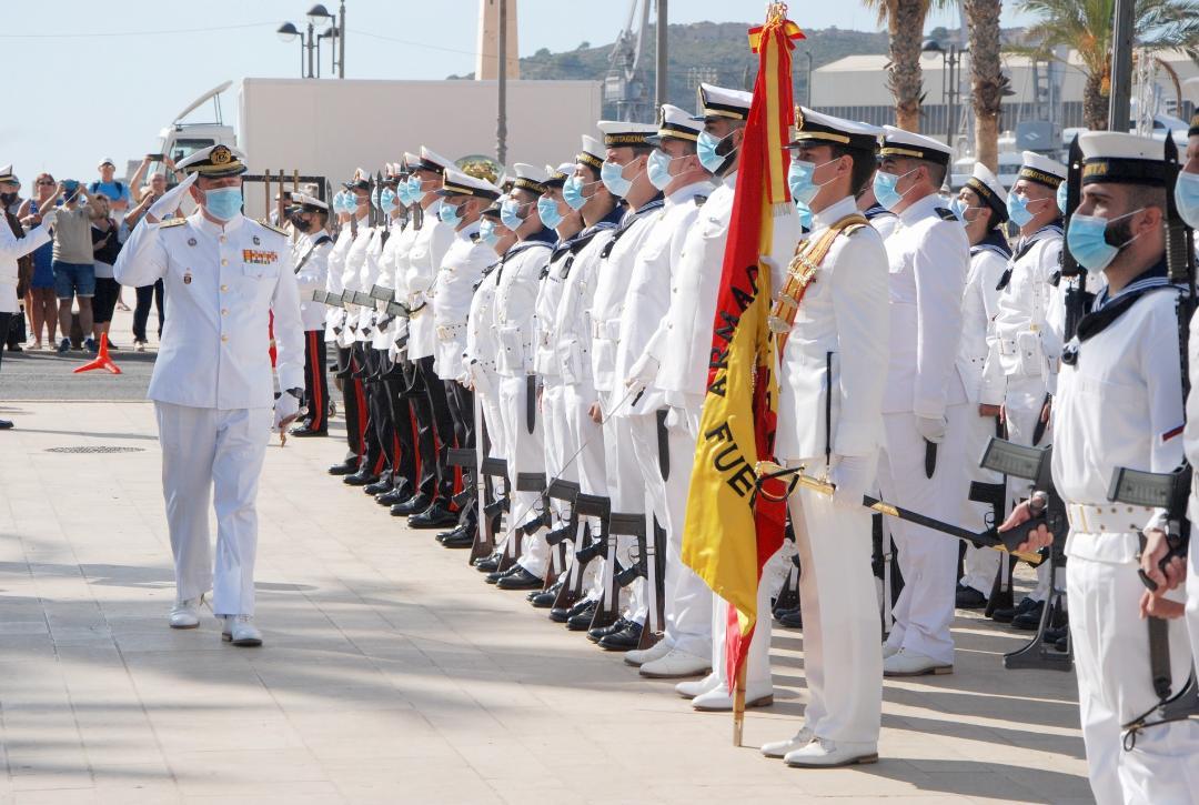 La Armada conmemora el 450 Aniversario de la Batalla de Lepanto en Cartagena