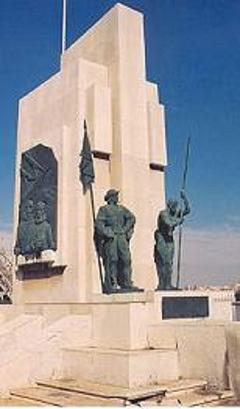 """Culturilla Naval: Un monumento muy desconocido en Cartagena: el dedicado a las dotaciones de la """"Escuadra de Galeras"""", por Diego Quevedo Carmona, Alférez de Navío ®"""
