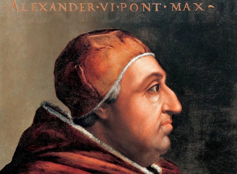 'Cuando fue nombrado Papa Alejandro VI' , por Pedro Cuesta Escudero