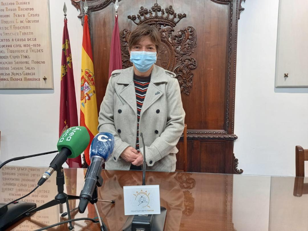 El Ayuntamiento de Lorca realiza una batería de inversiones de 150.000 euros para ayudar a los colectivos sociosanitarios del municipio ante las dificultades provocadas por la pandemia