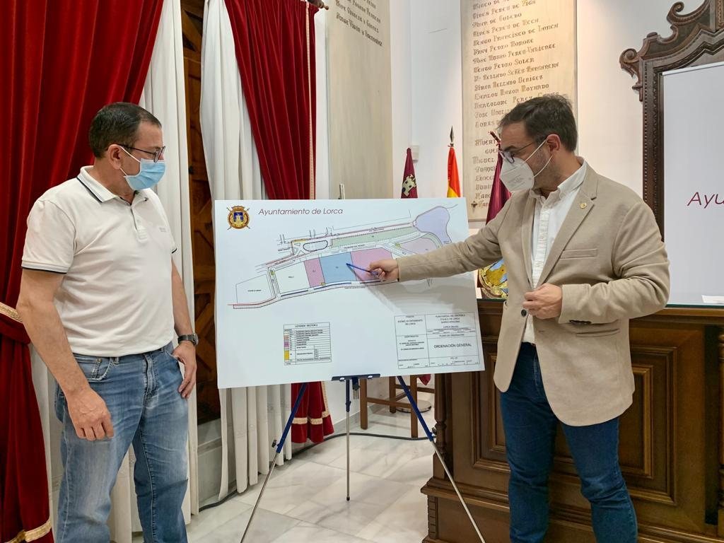 El Ayuntamiento lorquino lleva a cabo la aprobación inicial del Plan Parcial del Sector de Apolonia que permitirá la instalación de un supermercado y la construcción de nuevas viviendas