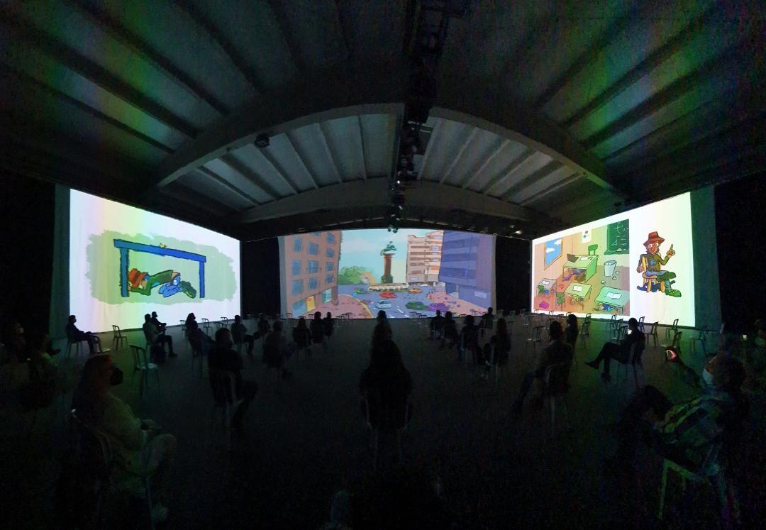 El Ayuntamiento organiza la exposición audiovisual 'Lorca. Las costuras del Tiempo' que se podrá visitar, previa cita, entre el 12 y 15 de Mayo en el recinto ferial de Ifelor