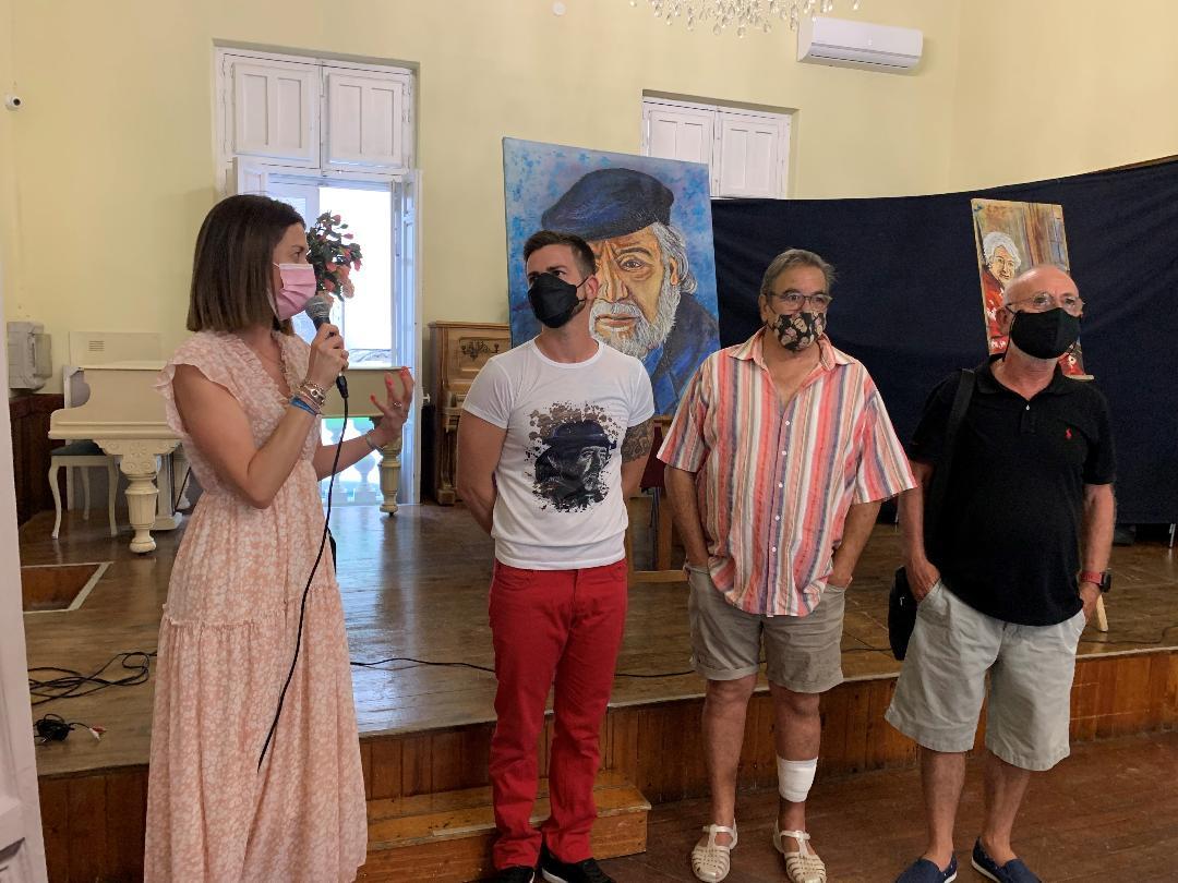 """El Casino de Águilas acoge la exposición """"Rimas y Leyendas"""" del artista aguileño Pedro Juan Rabal"""