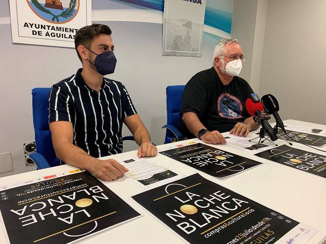 A causa del aumento de los casos COVID, Ayuntamiento de Águilas y ACIA deciden aplazar la Noche Blanca del viernes 23