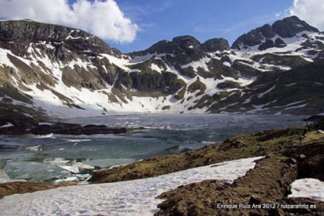 '!El lago Cao', por Pedro Cuesta Escudero autor de Atrapado bajo los escombros