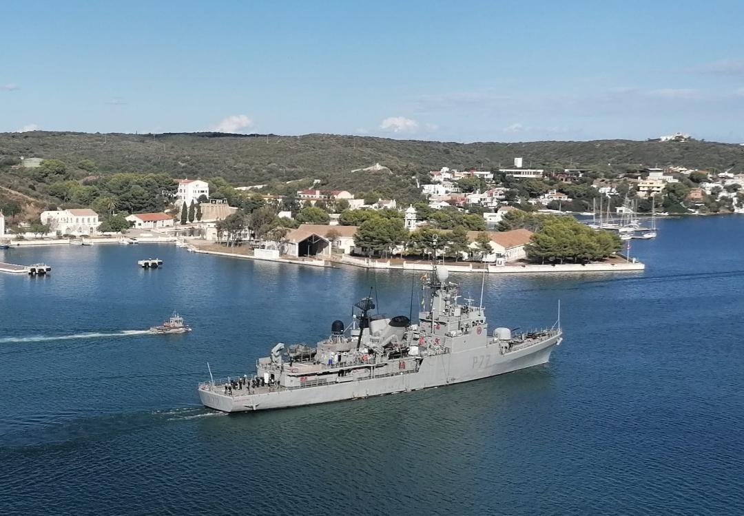 """El Patrullero """"Infanta Cristina"""" cumple 40 años al servicio de España"""