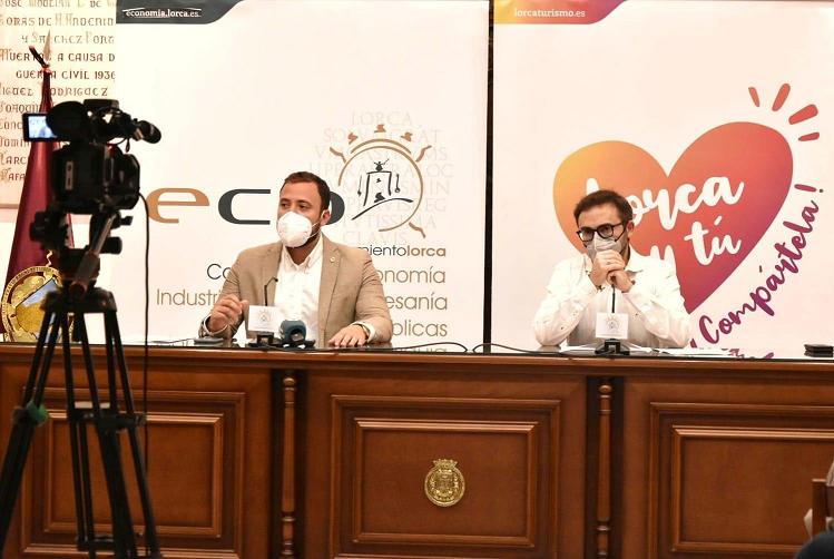 El Ayuntamiento de Lorca hace balance de todas las iniciativas emprendidas para ayudar al tejido económico a hacer frente a la crisis de la COVID-19