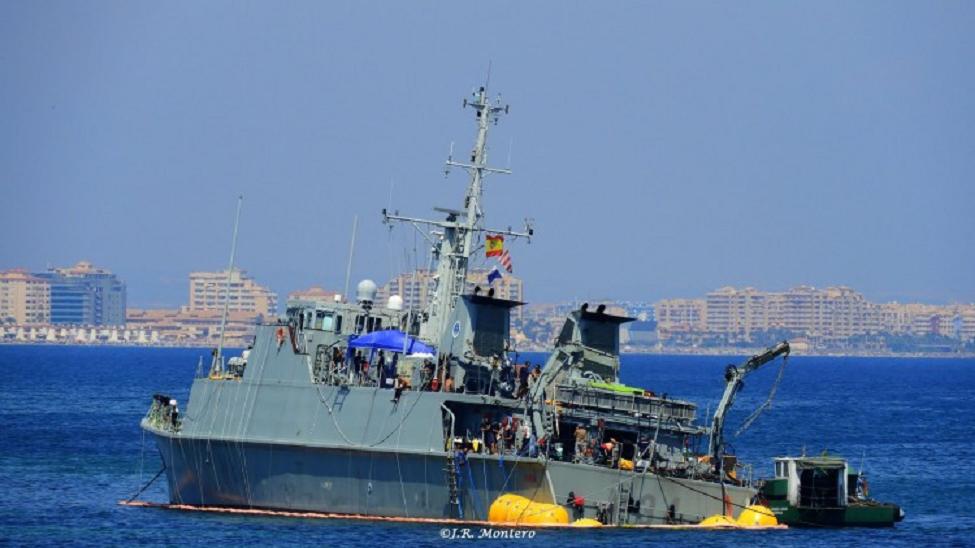 """El Cazaminas """"Turia-M 34"""" será reparado por 25 millones de euros durante los próximos dos años"""