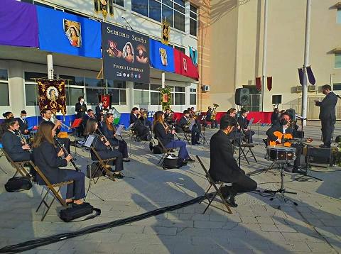 """Ayuntamiento y Asociación """"Amigos de la Música"""" renuevan el convenio de colaboración para fomentar la cultura musical en Puerto Lumbreras"""