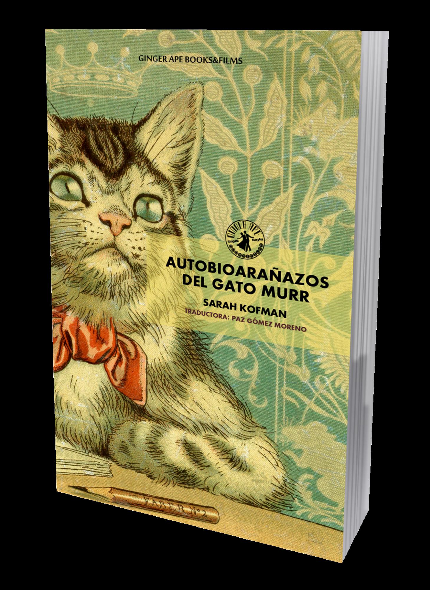 Repensando la escritura (y las relaciones hombre-animal) de la mano de Sarah Kofman y la garra del gato Murr