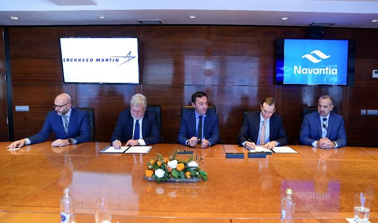 Navantia y Lockheed Martin renuevan su colaboración de más de 20 años