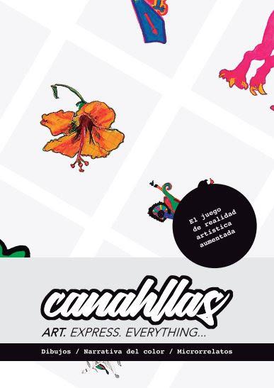 'Canahllas', dibujos, narrativa del color y microrrelatos