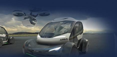 Pop.Up System, el coche que puede viajar por aire y por tierra