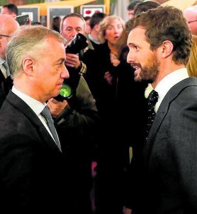 Urkullu le recuerda al PP que fue Aznar el primero en acercar a presos de ETA a las cárceles del País Vasco