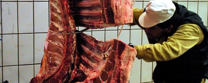 Sanidad confirma la entrada de 367 kilos de carne de vaca enferma procedente de Polonia
