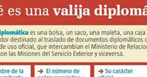 VENEZUELA UTILIZA LA VALIJA DIPLOMÁTICA PARA ENVIAR COCAINA A ESPAÑA, FRANCIA , ALEMANIA, HOLANDA E ITALIA, por Joaquín Abad