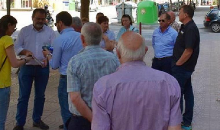Somos Región pide soluciones para los vecinos de Alameda de Cervantes de Lorca