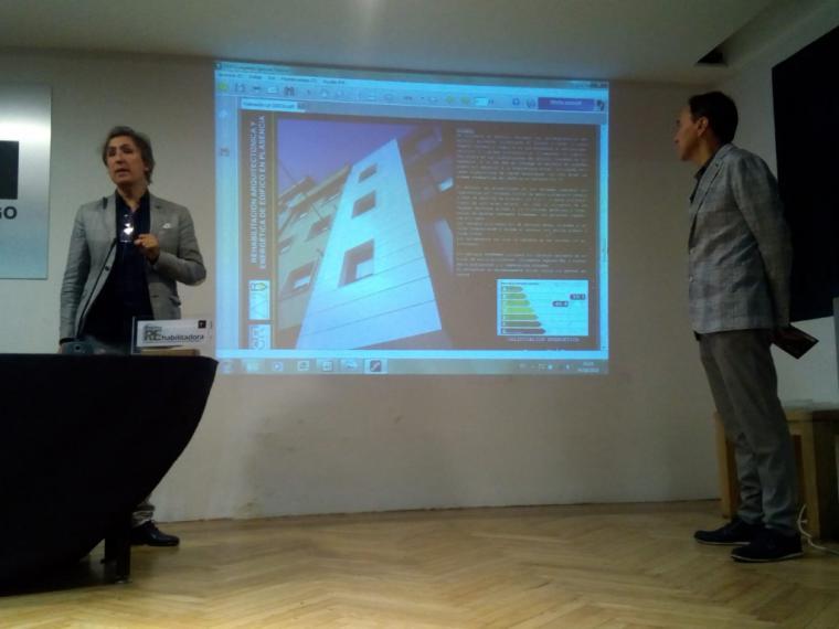 Los arquitectos Jesús Ramos Santos y Valentín Martín ganadores del primer premio Empresa REhabilitadora