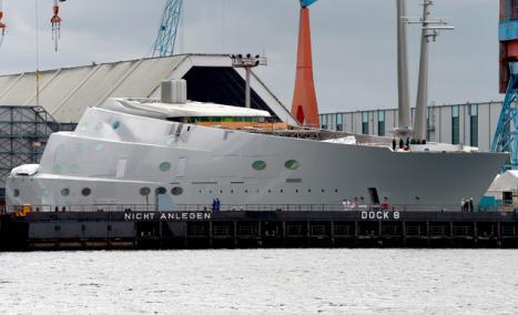 El velero más grande del mundo.