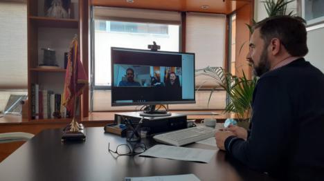 El Alcalde de Lorca mantiene una videoconferencia con el Cónsul de Marruecos en la Región para valorar la situación de la comunidad musulmana durante la crisis del coronavirus