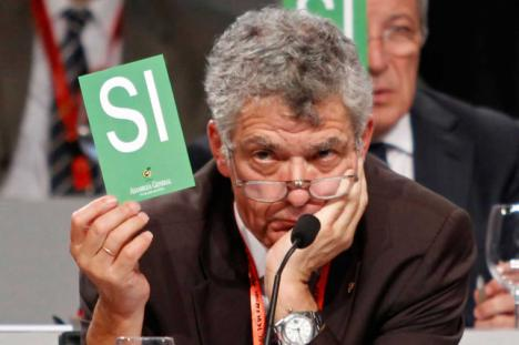 Villar, el 'Padrino' del futbol