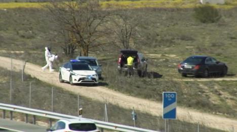 La Guardia Civil encontra en Madrid el vehículo con el que se produjo el atropello de la mujer en la A-5