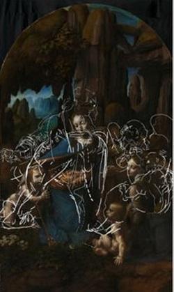 El secreto que escondía 'La Virgen de las Rocas' de Leonardo da Vici revelado mediante rayos X