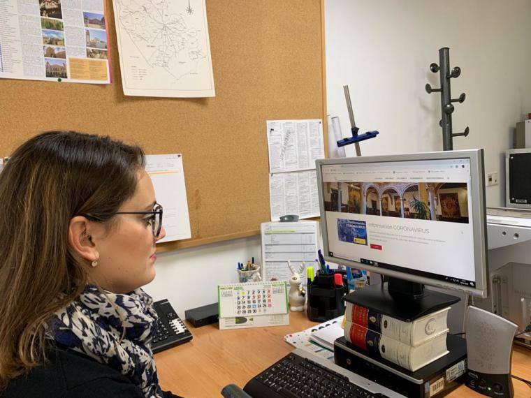 La página web municipal de Lorca registra más de 100.000 visitas en el último mes motivadas en su mayoría por la búsqueda de información sobre la crisis sanitaria