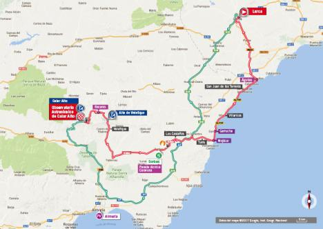 La vuelta ciclista llega mañana a Almería.