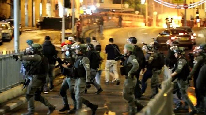 Nuevos enfrentamientos en la Puerta de Damasco de Jerusalén principal acceso a la Ciudad Vieja