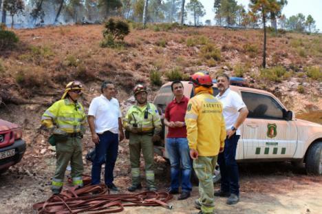 El incendio de Yeste supera las 3.000 hectáreas