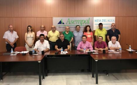 """La Mesa del Agua de Almería insta a las administraciones a ponerse """"manos a la obra"""" para evitar este verano los mismos problemas sufridos por los regantes en 2020"""