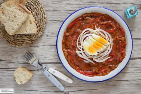 Zorongollo, la deliciosa ensalada extremeña de pimientos